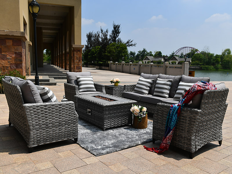 Outdoor sofa sets furniture