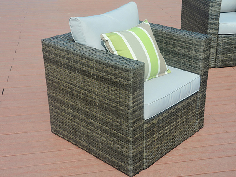 Outdoor wicker sofa sets