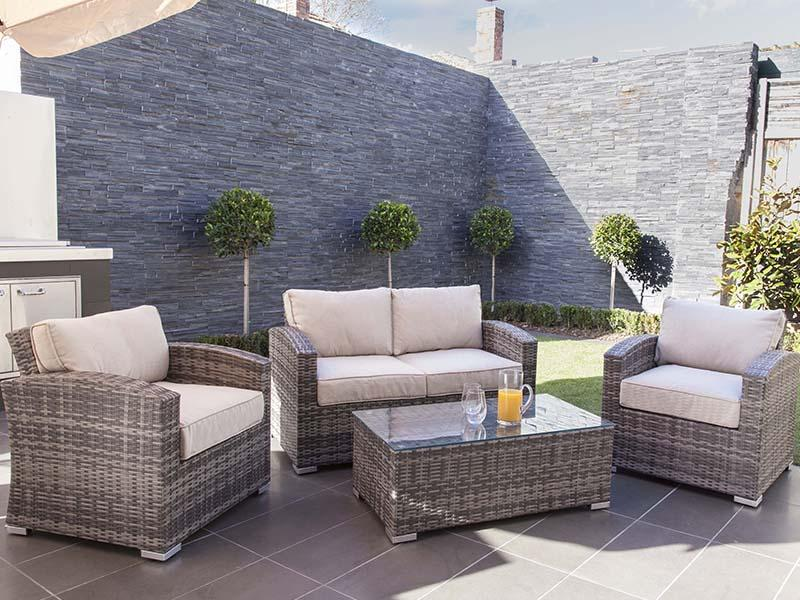 pe rattan outdoor furniture
