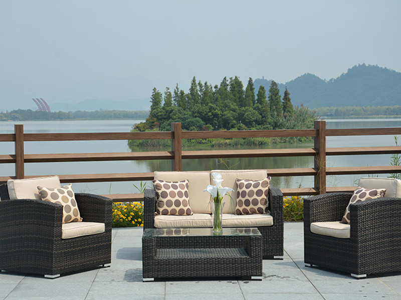 2019 Outdoor rattan sofa sets furniture
