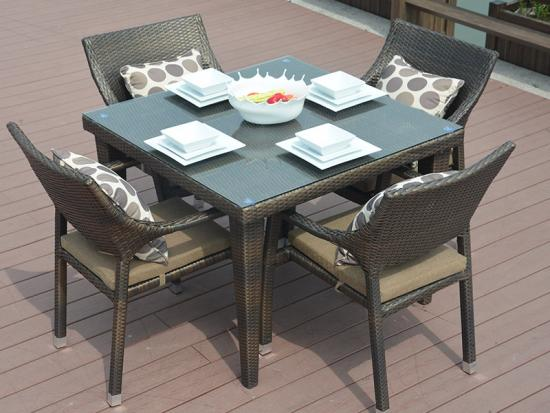 New Rattan Dining Sets furniture