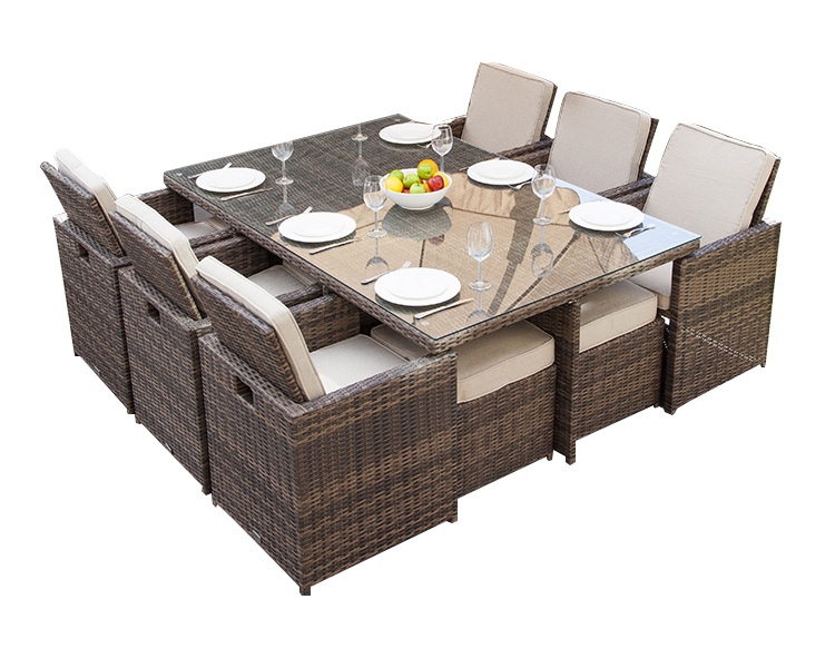 wicker dining furniture