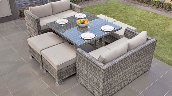 Villa users choose outdoor furniture N reasons